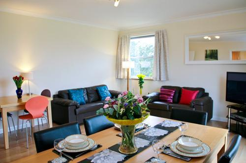 Living/Dining room area - Norham End, 2 Bedroom apartment, Oxford, Sleeps 5 - Oxford - rentals