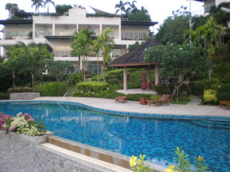 Layan Garden swimming pool - Beautiful apartment with roof-garden Bangtao beach - Bang Tao - rentals
