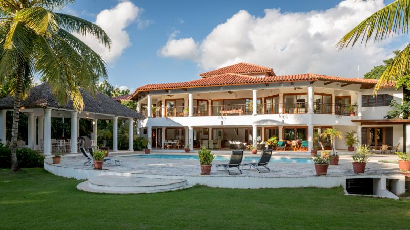 Great Villa 6 BR 10,000 Sq,Sea View,on Golf Course - Image 1 - La Romana - rentals