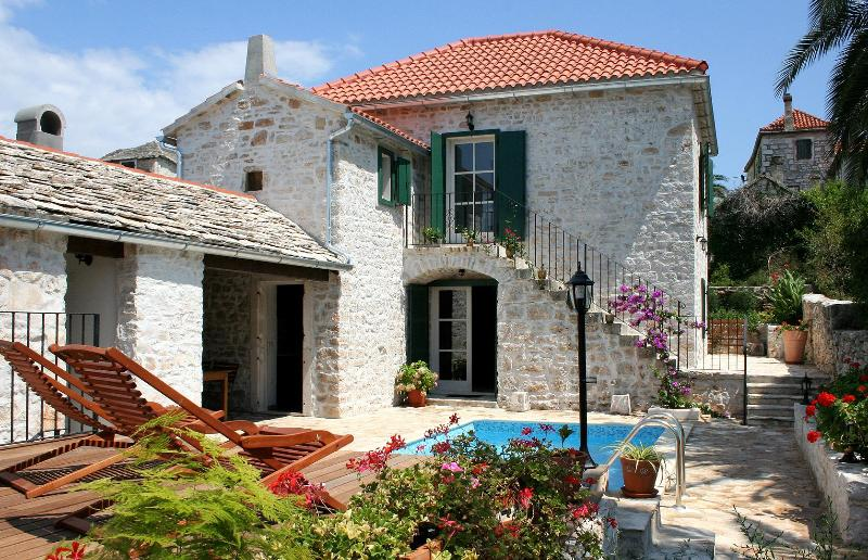 Villa Maruka - Stone villa with pool recommended by Sunday Times! - Island Brac - rentals