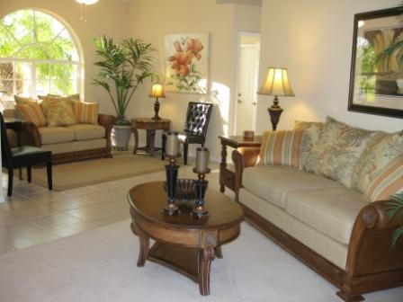 Living room - Villa Makani, Escape From Daily Life - Cape Coral - rentals