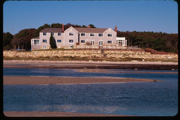 Southwest at LIttle Harbor from water - Cape Cod Oceanfront /Vacation/Reunions/Sm Wedding - Bourne - rentals