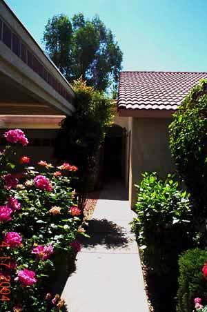 Entry to the Desert Oasis Villa - Desert Oasis Villa-Indian Palms Country Club-Indio - Indio - rentals