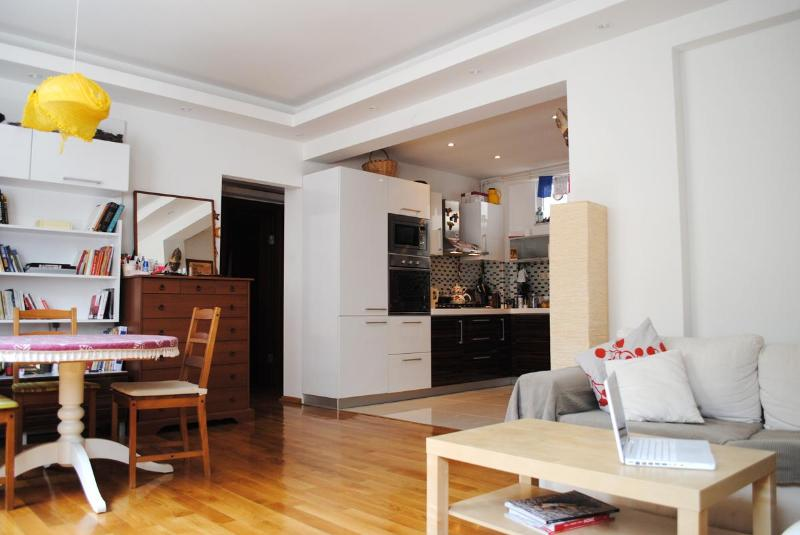 Living room - Modern House in Central Cihangir - Istanbul - rentals