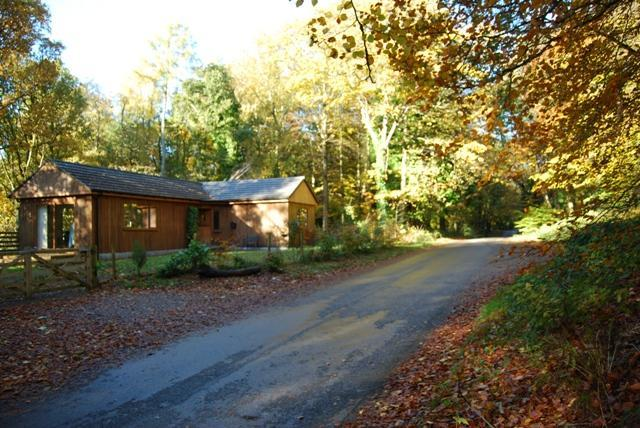 The Shack in Autumn - The Shack - Gatehouse of Fleet - rentals