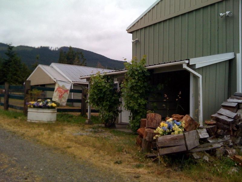 Private Entrance to the Cottage - Country Cottage on Horse Property! - Port Angeles - rentals