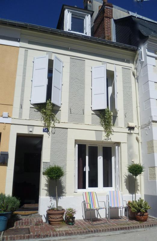 front of cottage - beach getaway in fishermans cottage 2h from Paris! - Basse-Normandie - rentals