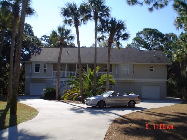 Front of House - Luxury Spacious Beach House- - Fripp Island - rentals