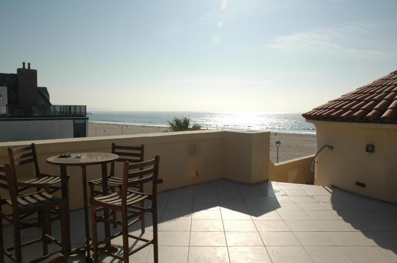 Rooftop deck with Ocean View - 2 Bed/1.5 ba Strand Apt with A/C and Rooftop Deck - Hermosa Beach - rentals