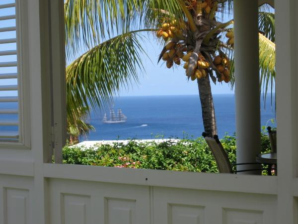 Romantic villa, panoramic Caribbean sea view, Pool - Image 1 - Saint-Pierre - rentals