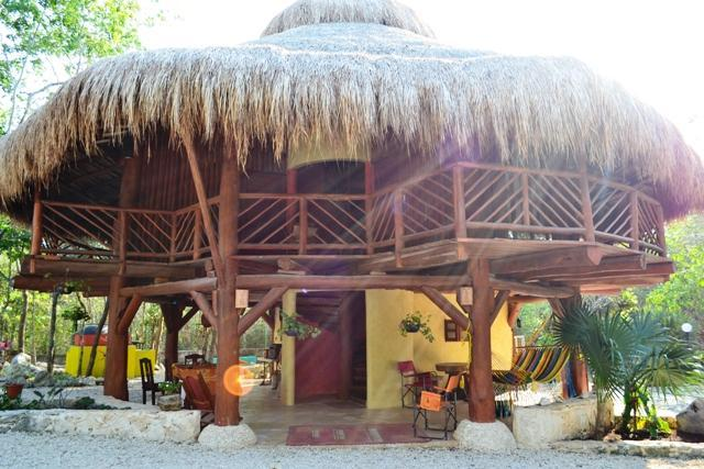 House front - Tree top villa in unique Riviera Maya Mexico - Akumal - rentals