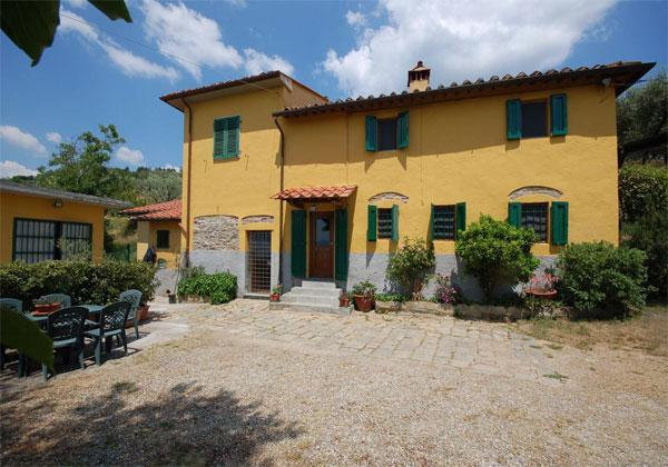 Outside view of the house - Lovely cottage in Tuscan style with pool - Pistoia - rentals