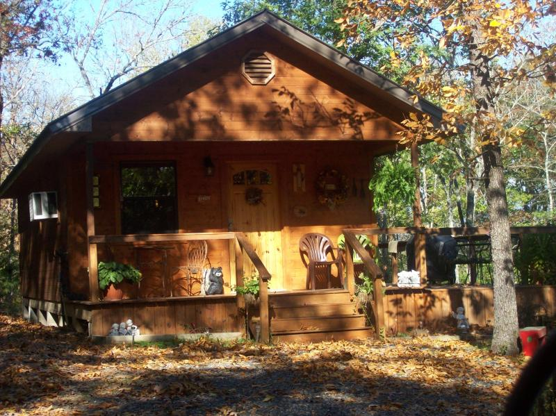 Fall at the cabin. - couples private cabin in secluded wooded area - Octavia - rentals