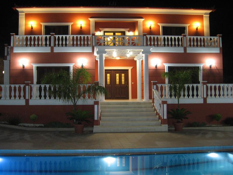 Front view - Royal Villa with pool, jacuzzi & amazing views! - Chania - rentals