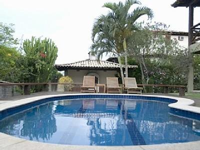 Swimming Pool - 4 Bedroom House at Geribá Beach, Búzios, Brazil - Buzios - rentals