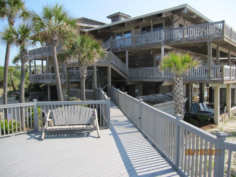 The Whaley House - The Whaley House-Beachfront Property - Saint George Island - rentals