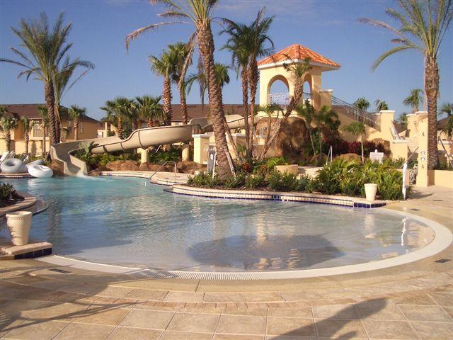 Children's Pool with waterslide - Townhome in Regal Palms Resort, Davenport, Florida - Davenport - rentals