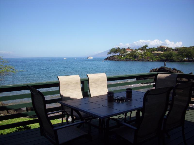 View from deck - Makena Bay Cottage - Makena - rentals