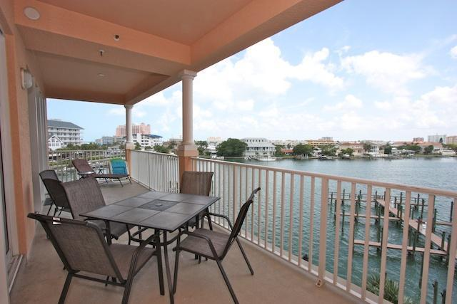 Private Balcony - 404 Harborview Grande Clearwater Beach Condo 3b/2b - Clearwater Beach - rentals
