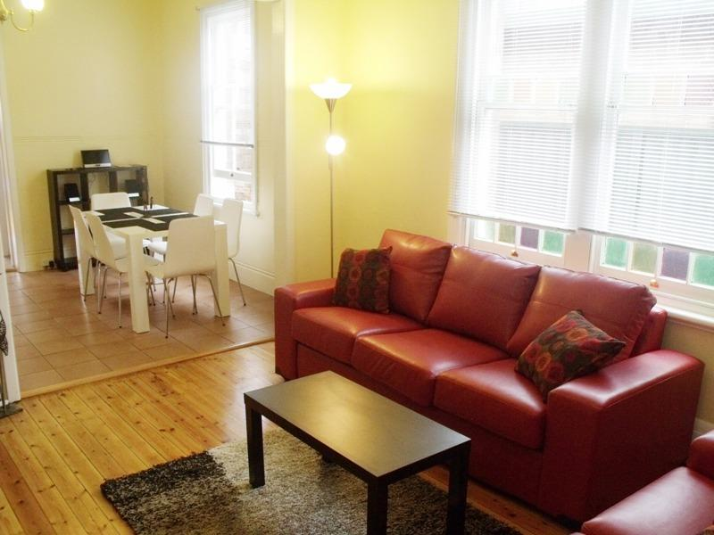 Lounge and Dining Room - @WARATAH, 2 B/Room Terrace House In Trendy Newtown - Sydney - rentals