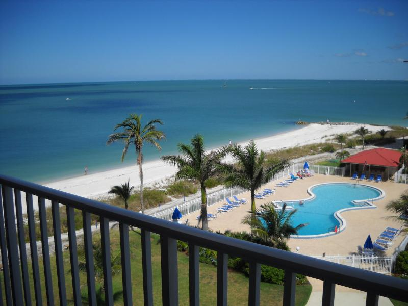 View from the outside lanai - Bonita Beach Club - Bonita Springs - rentals