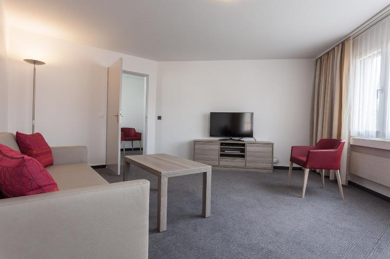 Living Room - EMA house Serviced Apartment, Sihlfeldstr.127, 1BR - Zurich - rentals