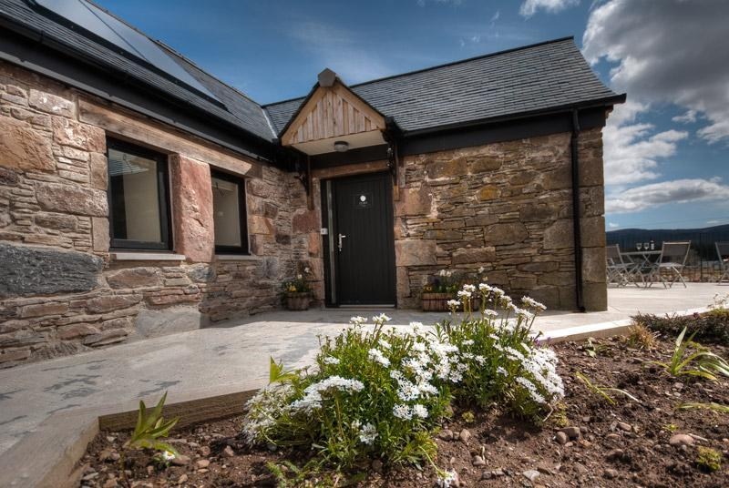 Clava Cottage front - Gask House Farm - Clava Cottage near Loch Ness - Loch Ness - rentals