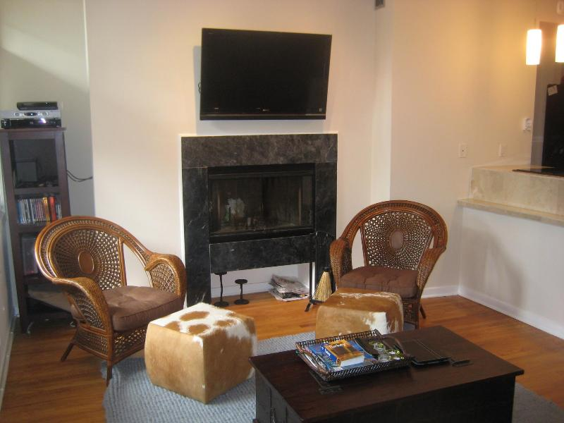 Living Area - Clean 1BR/1BA Dupont/Logan Cir Condo - Washington DC - rentals
