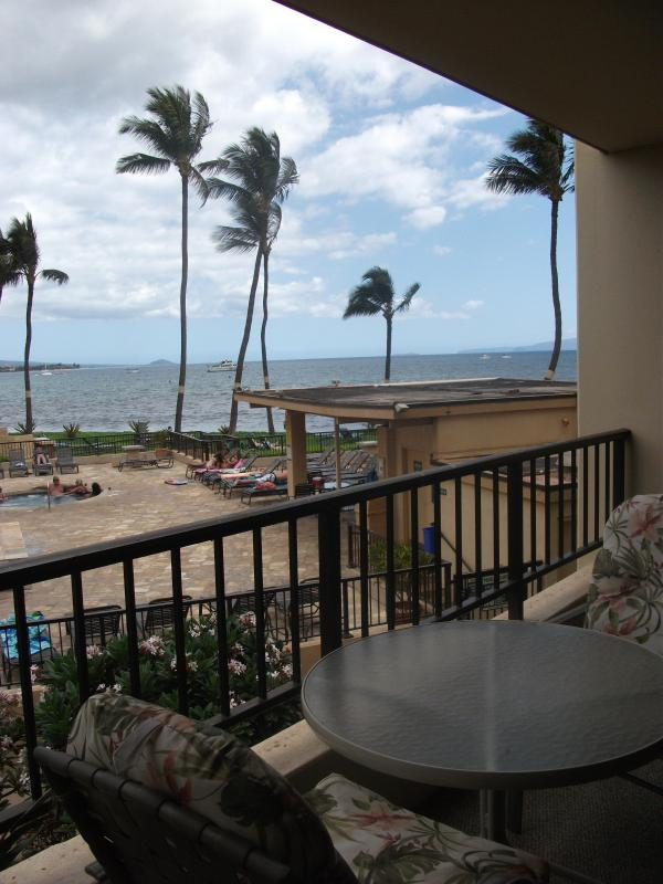 Have a Romantic Dinner on your Lanai with Ocean View - Oceanview 2nd Floor 1 Bed Condo at Sugar Beach - Kihei - rentals
