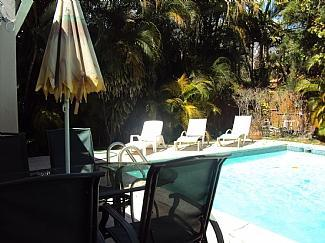 swimming pool - Beautiful 4 bedroom house near South Beach Miami - Miami - rentals