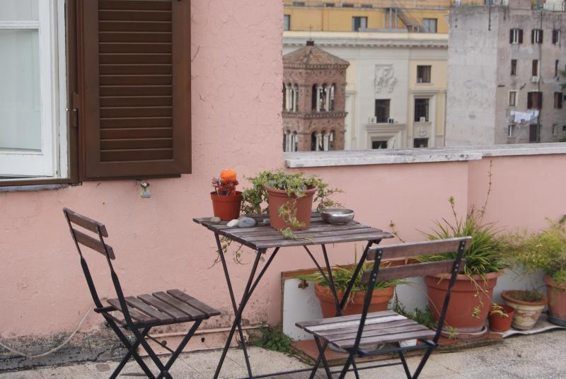 Terrace - Nice attic close to Colosseo and Piazza di Spagna - Rome - rentals
