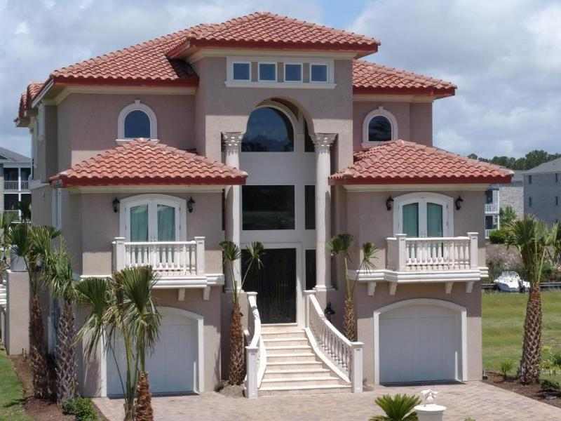 Beautiful Meditteranean Luxury Home - New Luxurious Executive Mediterranean Gated Island Home W/ Dock/Pool! - Ulmer - rentals