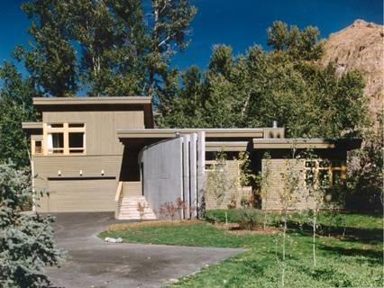 View outside - Luxurious 4 BR/3Bath and Den on River-Sleeps 12 ! - Sun Valley / Ketchum - rentals