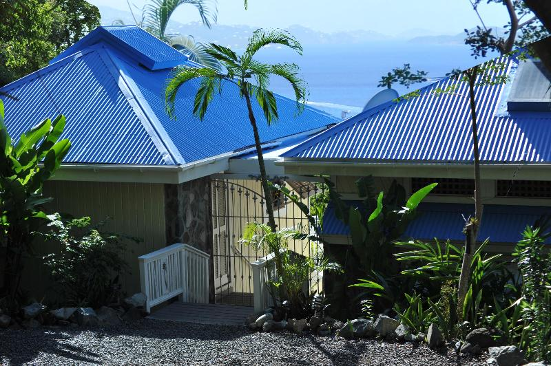 Pillsbury Sound House w/ seaview - Pillsbury Sound House in Cruz Bay - Cruz Bay - rentals