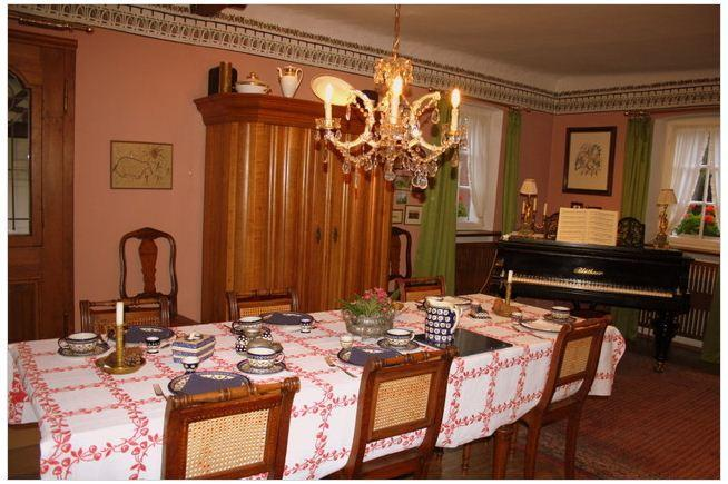 The cosy breakfast room - Old Doctors House Bed and Breakfast - Markt Einersheim - rentals