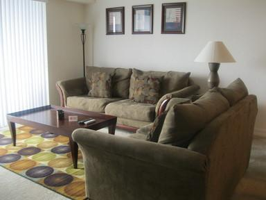 Living Room - OCEANWALK CONDOMINIUMS - New Smyrna Beach - rentals