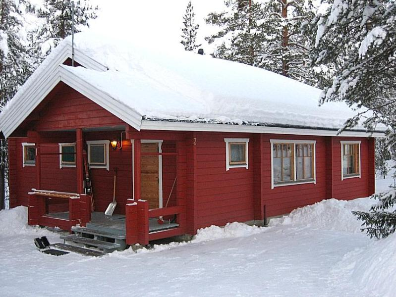 Winter - Lomaset, holiday cottage on the best fell lapland - Levi - rentals