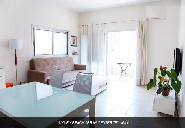 LUXURY 2 BEDROOMS APARTMENT IN CENTER TEL-AVIV - Image 1 - Tel Aviv - rentals