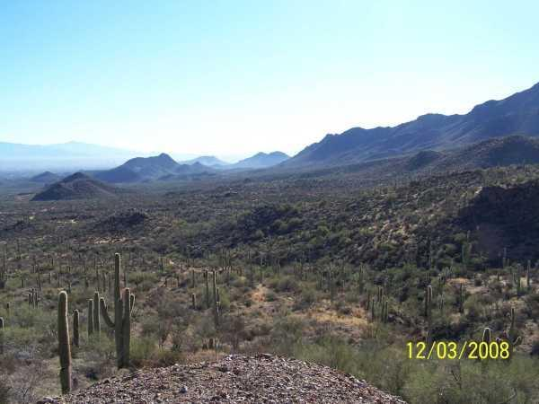 view of property from west and toward town - Dream with Sahuaros Casita - Tucson - rentals