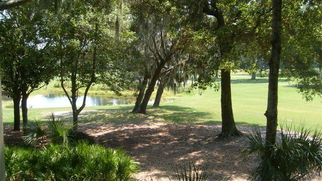 View from our balcony-14th Fairway - Hilton Head Island Getaway - Palmetto Dunes - rentals