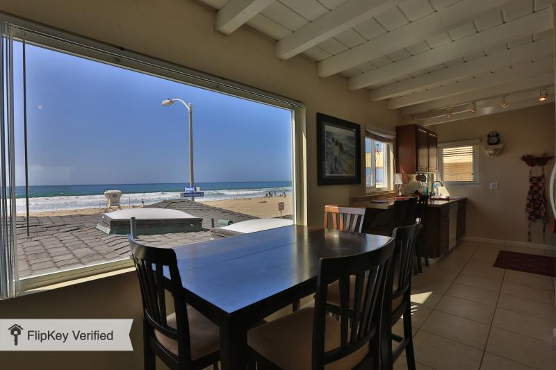 Gorgeous Ocean Front View from the Living Room!! - San Diego  Full Ocean View Zanzibar Jewel Condo One House from the Ocean!! - Mission Beach - rentals