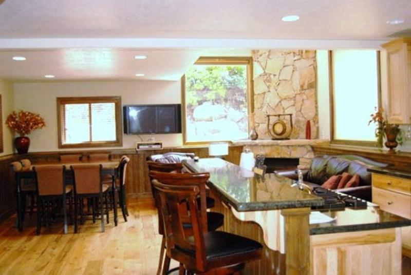 Living Area - Old Town Private 5-bedroom Home near Main St. - Park City - rentals