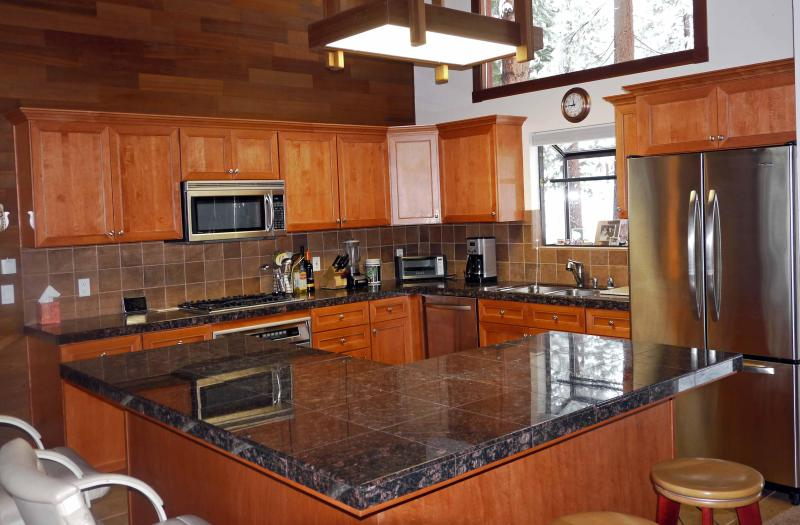 Our gourmet kitchen has everything you need from plain to fancy - Deluxe Private Home-Best Value in Incline Village - Incline Village - rentals