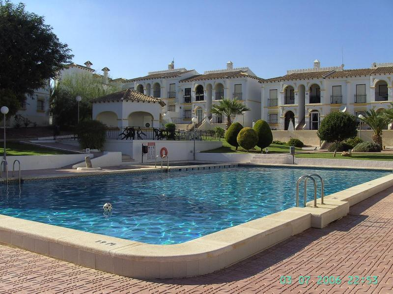 Pool and Gardens - Villamartin Apartment overlooking Pool & Gardens. - San Miguel de Salinas - rentals
