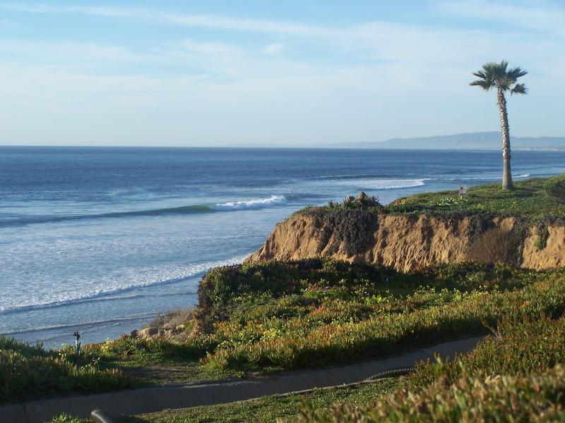 I know, it looks like a postcard, but I took this after a short walk through the complex - Wake Up At The Beach! Lowest rates for Summer 2014 - Encinitas - rentals