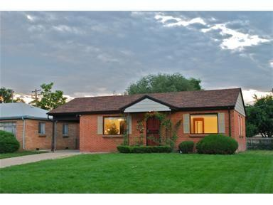 House view from street - Little Brick House in the Highlands, near downtown - Denver - rentals
