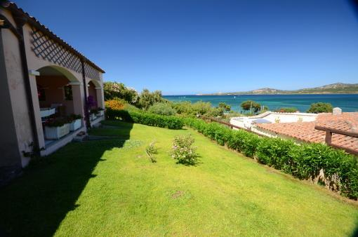 View of Sea and Gardens From Villa Bouganville  - Villa Bouganville Sardinia use of Hotel Facilities - Cannigione - rentals