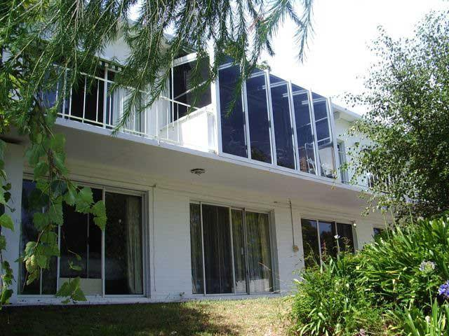 View from the lake side - Six bedroom lakeside villa with private jetty - Paynesville - rentals