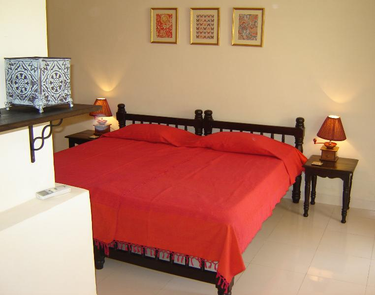 Pool facing bedroom - Luxurious 3 Bedroom Row Villa  in Goa near Beach - Benaulim - rentals