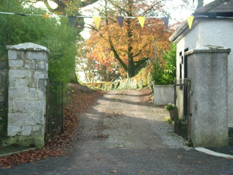 Entrance - The Gate Lodge in the heart of Ireland's lakelands - Castletown Geoghegan - rentals